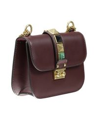 Valentino - Brown Borsa Small Shoulder Bag - Lyst