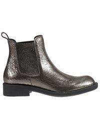 Pedro Garcia | Black Flat Booties Shoes Woman | Lyst