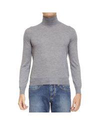 Cruciani | Gray Sweater Man for Men | Lyst