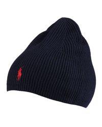 d8af5fe3af283 Lyst - Polo Ralph Lauren Hat Man in Blue for Men