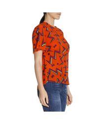 M Missoni | Orange Top Women | Lyst
