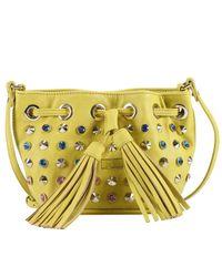 Patrizia Pepe - Yellow Shoulder Bag Handbag Women - Lyst