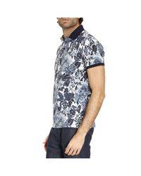 Etro | Blue T-shirt Men for Men | Lyst