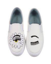 Chiara Ferragni   White Sneakers Shoes Women   Lyst
