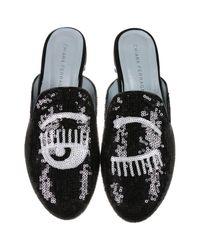 Chiara Ferragni | Black Ballet Flats Shoes Women | Lyst
