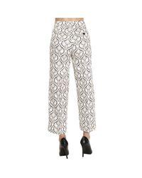 Twin Set - Black Pants Trouser Women - Lyst