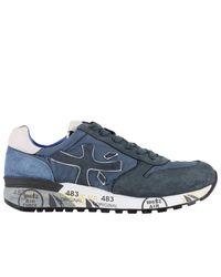 Premiata | Blue Sneakers Shoes Men for Men | Lyst