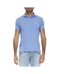 Polo Ralph Lauren - Blue T-shirt Men for Men - Lyst