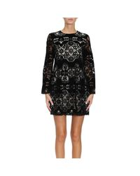 Ermanno Scervino - Black Dress Women - Lyst