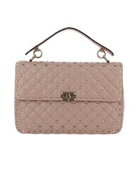 Valentino Multicolor Valentino Rockstud Spike Large Bag In Genuine Leather With Micro Studs And Sliding Shoulder Strap