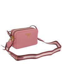 Prada Pink Mini Bag Shoulder Bag Women