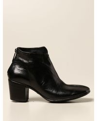 LEMARGO Black Flat Booties