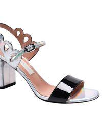 L'Autre Chose - Metallic Heeled Sandals Shoes Women - Lyst