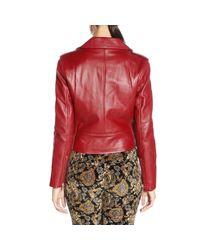 MICHAEL Michael Kors - Red Jacket Women - Lyst