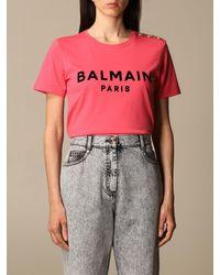 Balmain Pink T-shirt