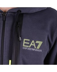 EA7 Blue Sweater Men Ea7 for men