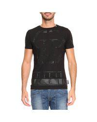 Philipp Plein Black T-shirt Men for men