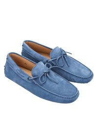 Tod's - Blue Loafers Shoes Men for Men - Lyst