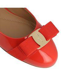 Ferragamo Red Shoes Women