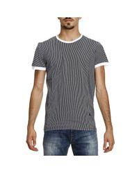 Patrizia Pepe - Blue T-shirt Men for Men - Lyst