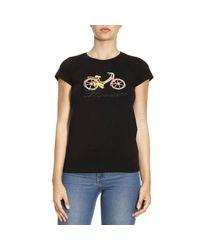 Blumarine | Black T-shirt Women | Lyst