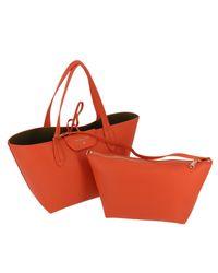 Patrizia Pepe Orange Crossbody Bags Women