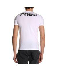 Iceberg White T-shirt Men for men