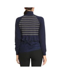 Patrizia Pepe - Blue Sweater Women - Lyst