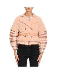 Elisabetta Franchi Pink Jacket Women