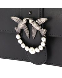 Pinko - Gray Mini Bag Women - Lyst