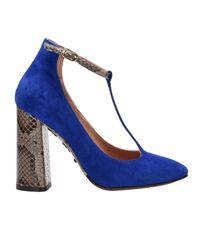 L'Autre Chose Blue Pumps Shoes Women