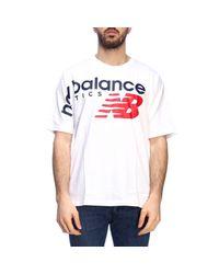 New Balance White Men