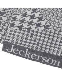 Jeckerson - Gray Scarf Men for Men - Lyst
