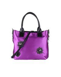 Pinko Purple Shoulder Bag Women