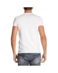 Emporio Armani - White T-shirt Men for Men - Lyst