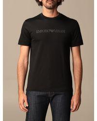 Emporio Armani Black T-shirt for men