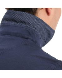 Della Ciana Blue Sweater Men for men