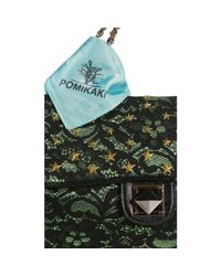 Pomikaki - Green Mini Bag Lace Across Body - Lyst
