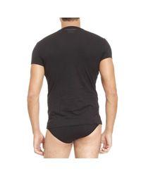 DSquared² Black T-shirt Man for men