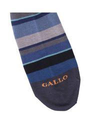 Gallo - Gray Socks Men for Men - Lyst
