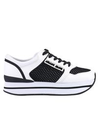 Armani Jeans - White Sneakers Shoes Women - Lyst