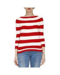 Twin Set | Red Sweater Women | Lyst