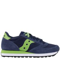 Saucony Blue Sneakers Shoes Men for men
