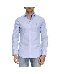 Polo Ralph Lauren | Blue Shirt Men for Men | Lyst