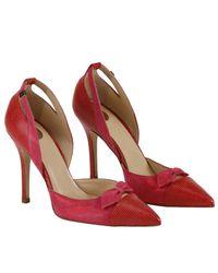 Elisabetta Franchi - Red Pumps Shoes Women - Lyst