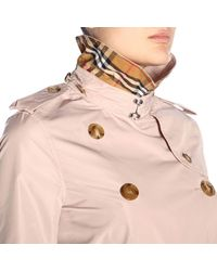 Burberry Pink Women's Coat