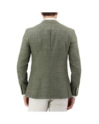 Isaia Green Blazer Men for men
