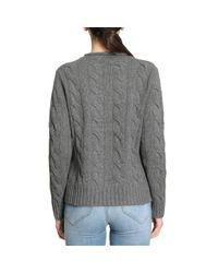 Polo Ralph Lauren - Gray Sweater Women - Lyst