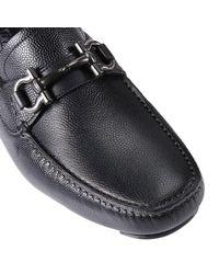 Ferragamo - Black Shoes Men for Men - Lyst