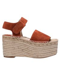 Paloma Barceló - Brown Wedge Shoes Shoes Women - Lyst